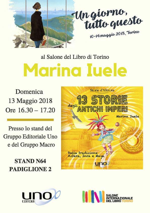 SALONE DEL LIBRO DI TORINO E 13 STORIE DAGLI ANTICHI IMPERI